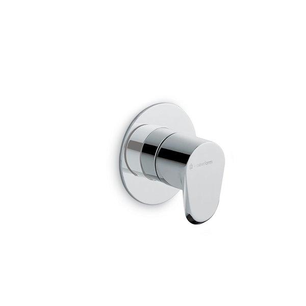 External control for concealed diverter/stop valve