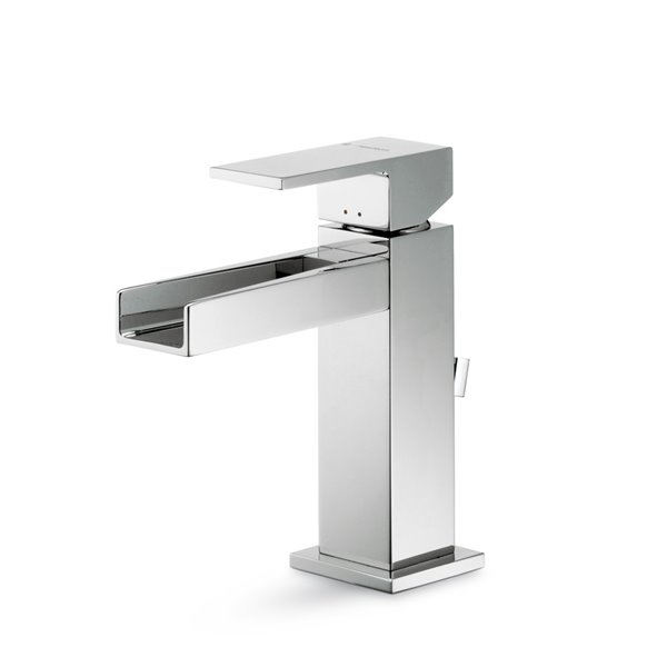 "Single-lever basin mixer with 1""1/4 pop-up waste set"