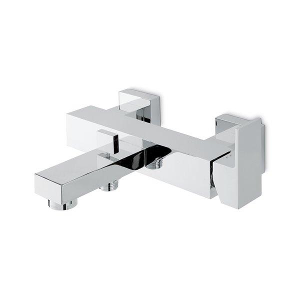 Miscelatore monocomando vasca esterno con deviatore automatico vasca/doccia