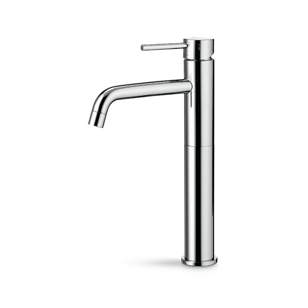 Single-lever mixer, high version for above counter basin