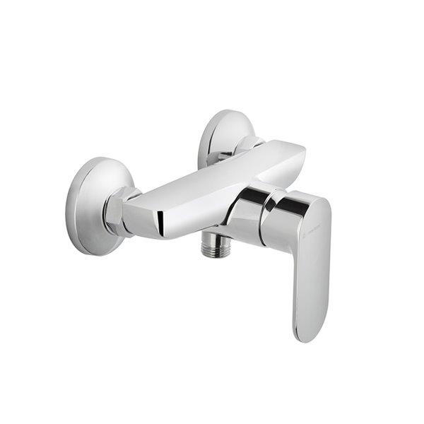 Single-lever exposed showermixer