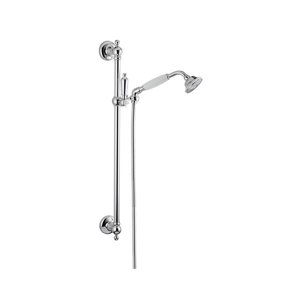 Complete shower set with hand shower, LL 150 cm flexible, without wall union.