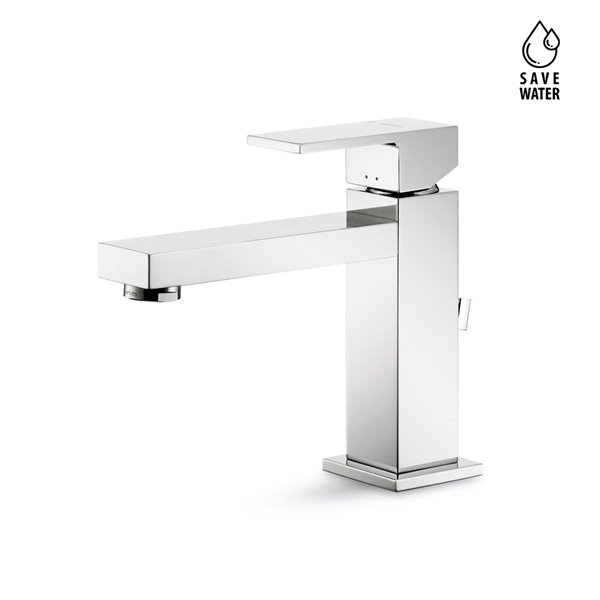 """Single-lever basin mixer with 1""""1/4 pop-up waste set"""