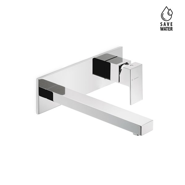 External part basin group consisting of: single lever wall mixer, without pop-up waste set.