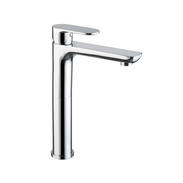 Single-lever mixer, high version for above counter basin without pop-up waste set.