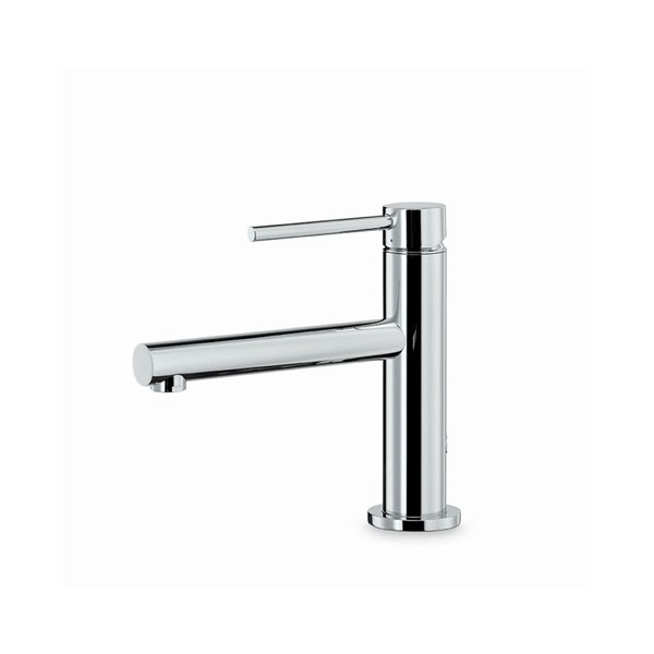 Single lever basin mixer without pop up waste set.
