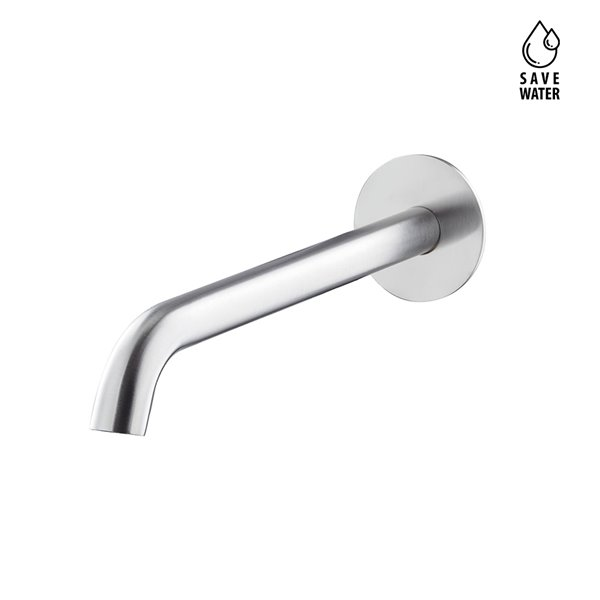 """Wall spout for basin group with 1/2"""" connection"""