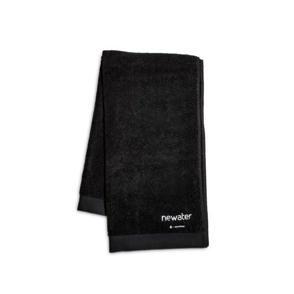 Asciugamano in spugna cm 100x150, colore nero
