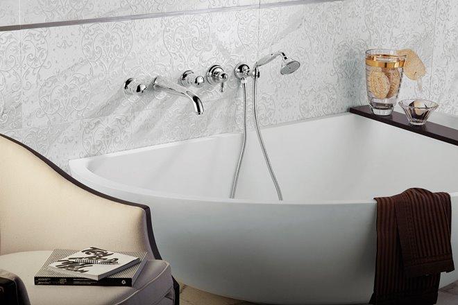 Rubinetto vasca da bagno Deluxe Prestige