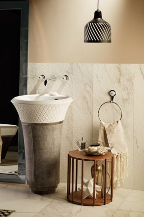 Rubinetto bagno Deluxe a parete