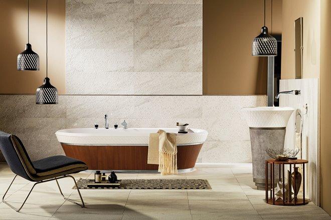 Bagno completo deluxe con vasca da bagno